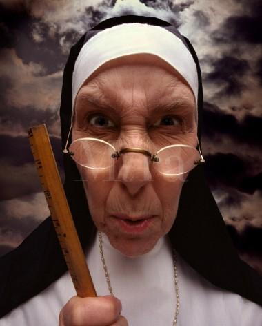 Scolding-Nun